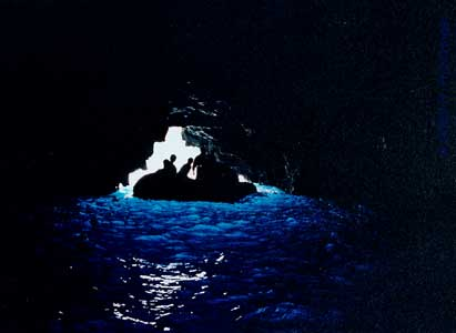 Galapagos Islands - Littoral Cave at Wolf Island © Huntzinger